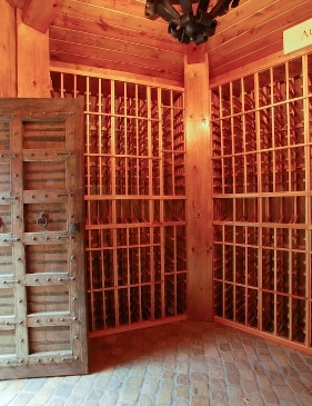 Home Custom Wine Cellar by Denver Builders