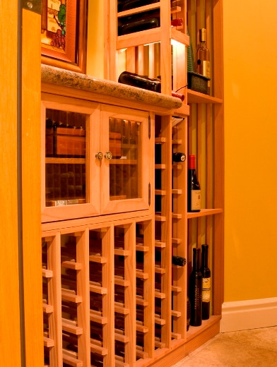 Traditional Residential Custom Wine Cellar Denver Project