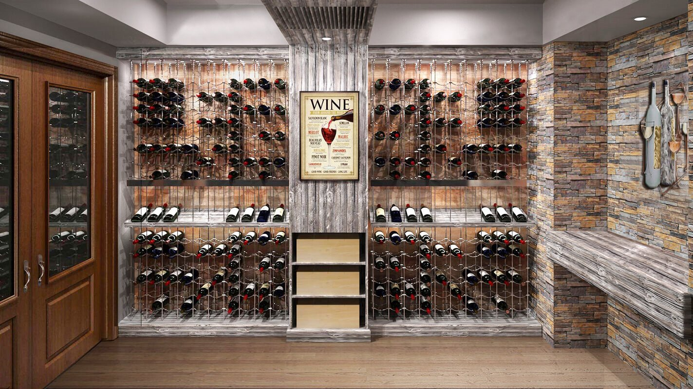 Cable Wine Systems are Perfect for Creating Luxury Home Wine Cellars